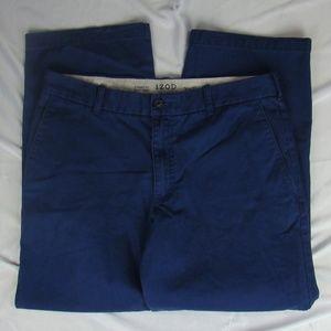 "IZOD Blue Pants ""Saltwater"" 34x29 Vintage Straight"